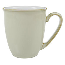 Buy Denby Linen Coffee Beaker / Mug, Natural Online at johnlewis.com