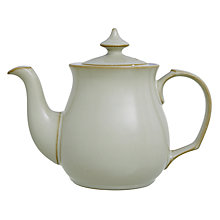 Buy Denby Linen Teapot, 1L, Natural Online at johnlewis.com