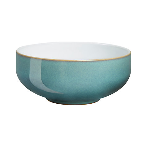 Buy Denby Azure Cereal Bowl, Blue, Dia.15.5cm Online at johnlewis.com