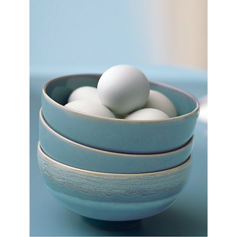 Buy Denby Azure Rice Bowl, Blue, Dia.12.5cm Online at johnlewis.com