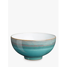 Buy Denby Azure Coast Rice Bowl, Blue, Dia.12.5cm Online at johnlewis.com