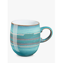 Buy Denby Azure Coast Large Curve Mug Online at johnlewis.com