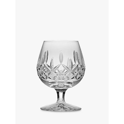 Buy waterford cut lead crystal lismore brandy glass clear john lewis - Waterford cognac glasses ...