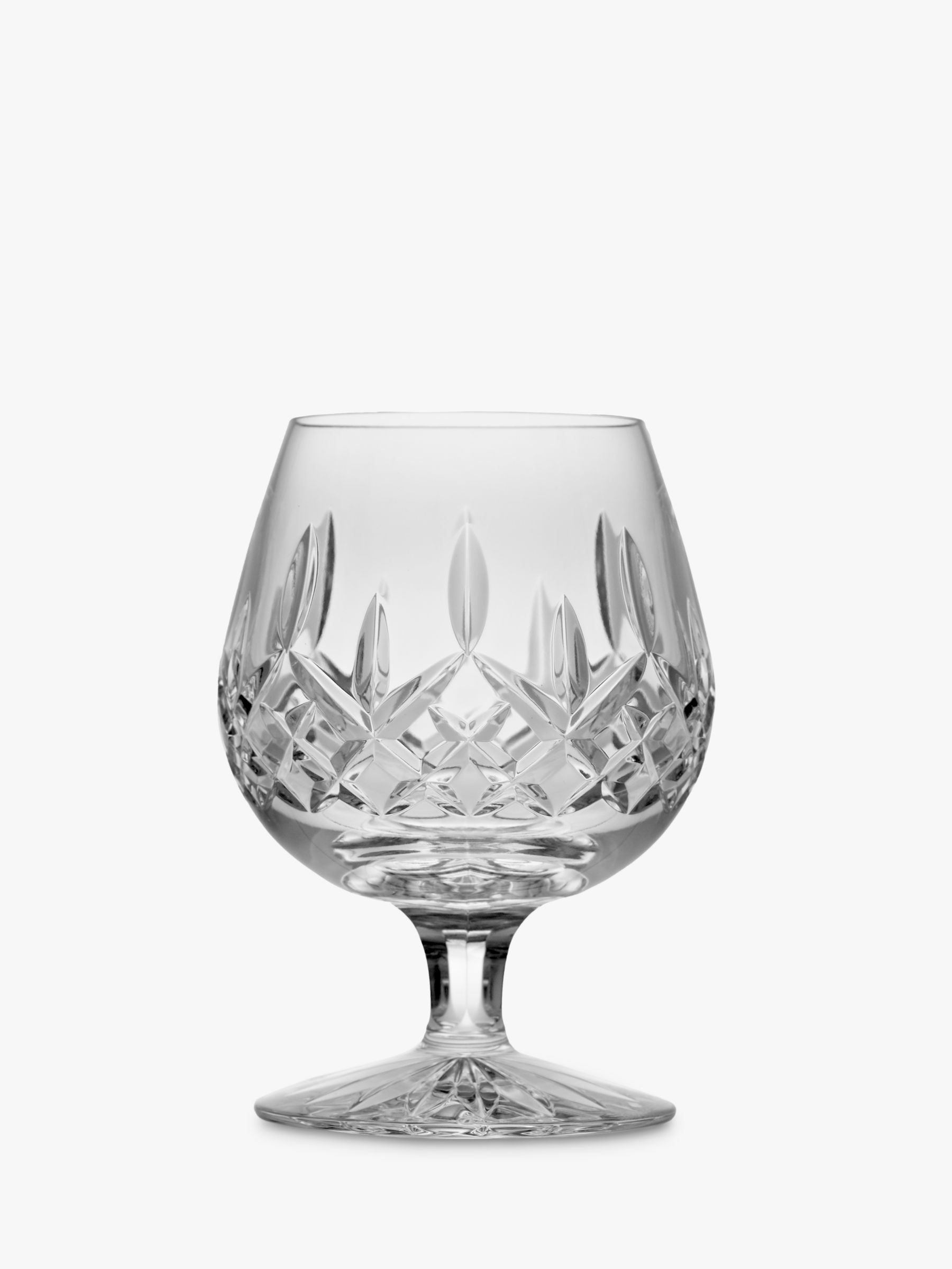 Waterford Waterford Cut Lead Crystal Lismore Brandy Glass, 300ml, Clear