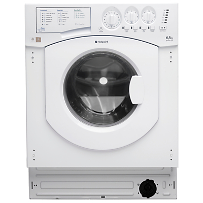 Hotpoint BHWM129 Integrated Washing Machine, 7kg Load, A+ Energy Rating, 1200rpm Spin, White