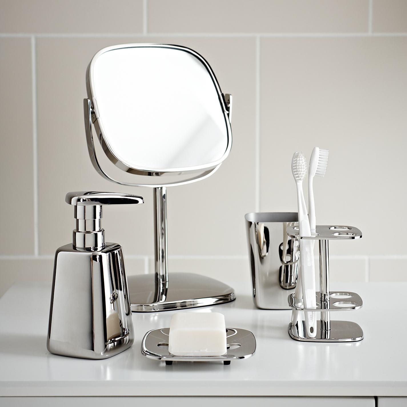Bathroom accessories john lewis -  Buy Robert Welch Burford Toilet Roll Holder Stainless Steel Online At Johnlewis Com