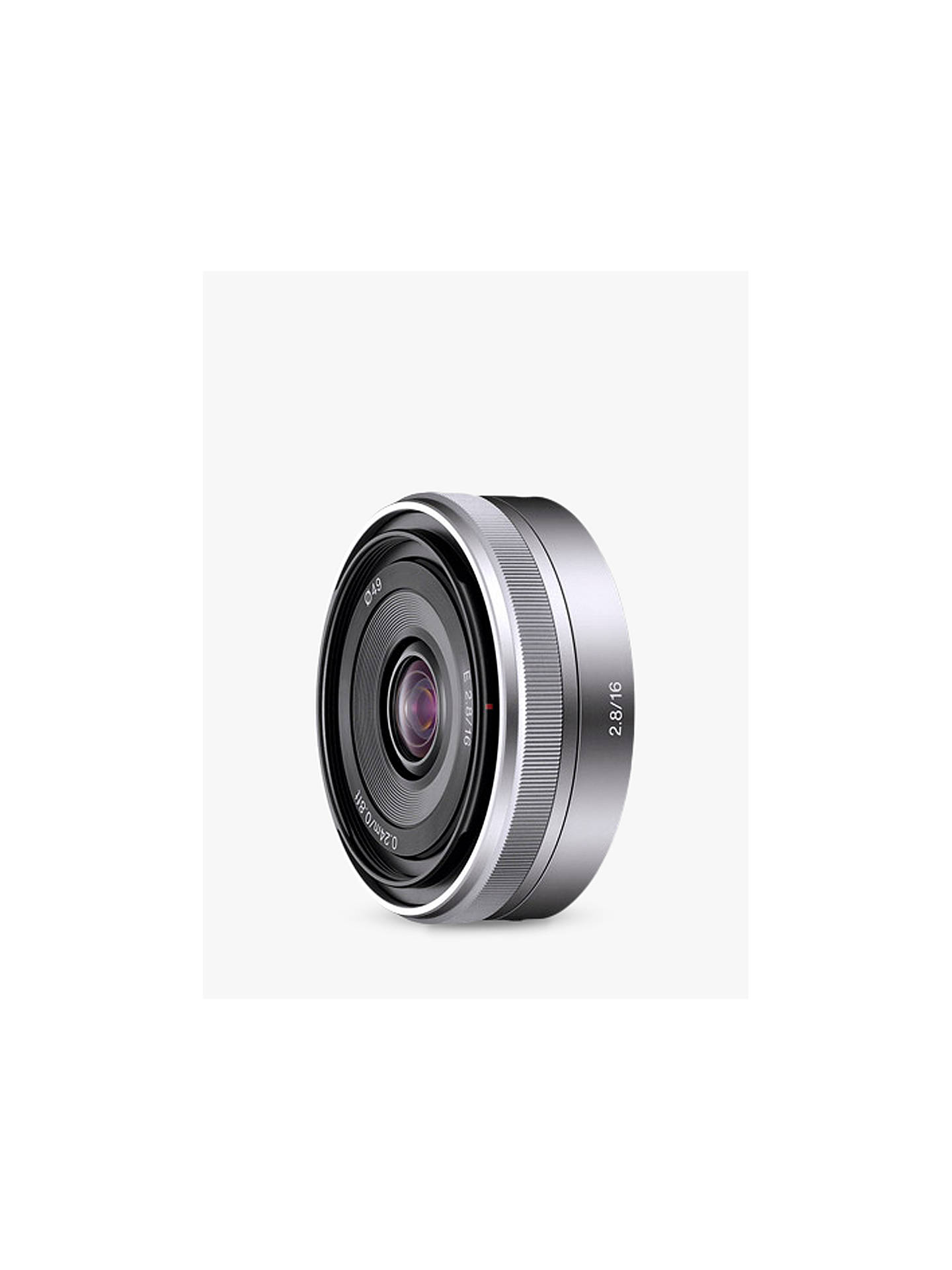 Buy Sony SEL-16F28 Pancake Lens Online at johnlewis.com