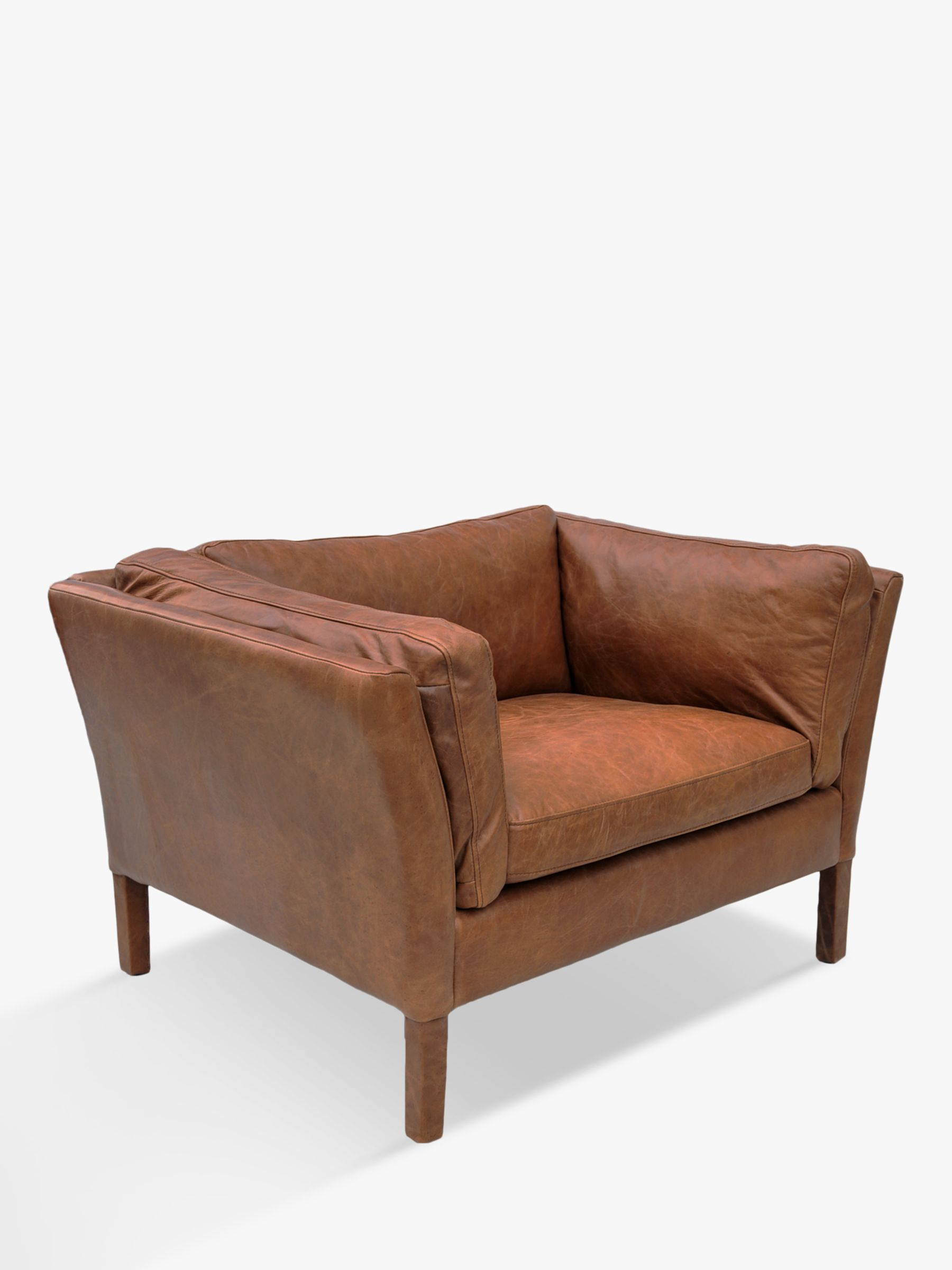 Halo Halo Groucho Aniline Leather Armchair