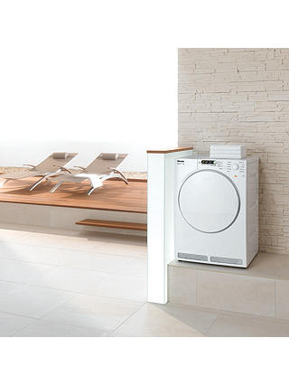 Buy Miele T7934 Vented Tumble Dryer, 7kg Load, C Energy Rating, White Online at johnlewis.com