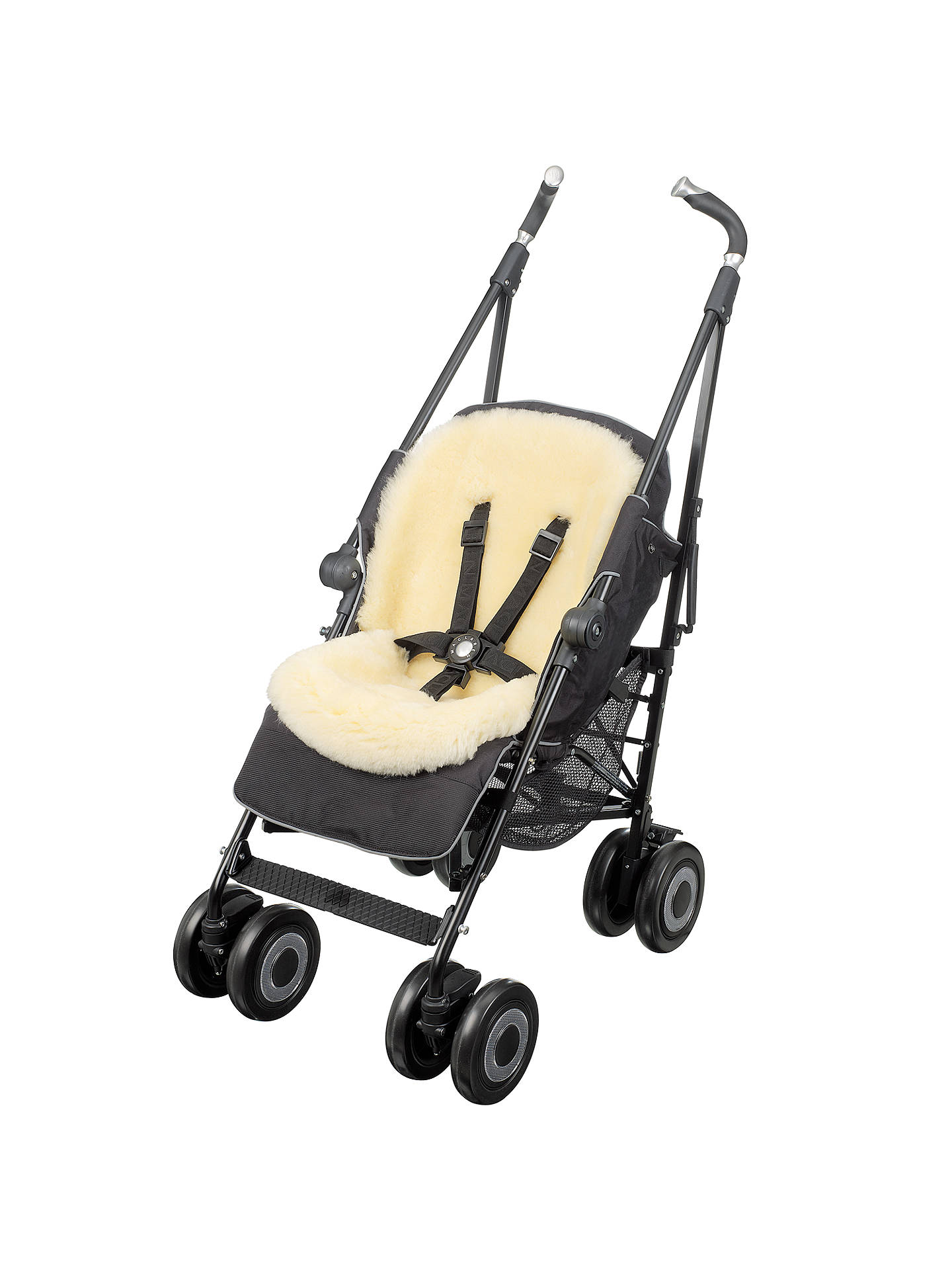 BuyJohn Lewis & Partners Car Seat and Pushchair Lambskin Liner Online at johnlewis.com