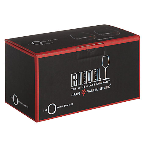 Buy Riedel 'O' Stemless Pinot Noir / Nebbiolo Red Wine Glasses, Set of 2 Online at johnlewis.com