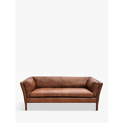 Halo Groucho Medium Aniline Leather Sofa