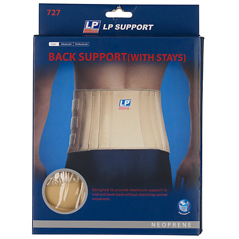 Buy LP Support Back Support with Stays, Neutral, One Size Online at johnlewis.com