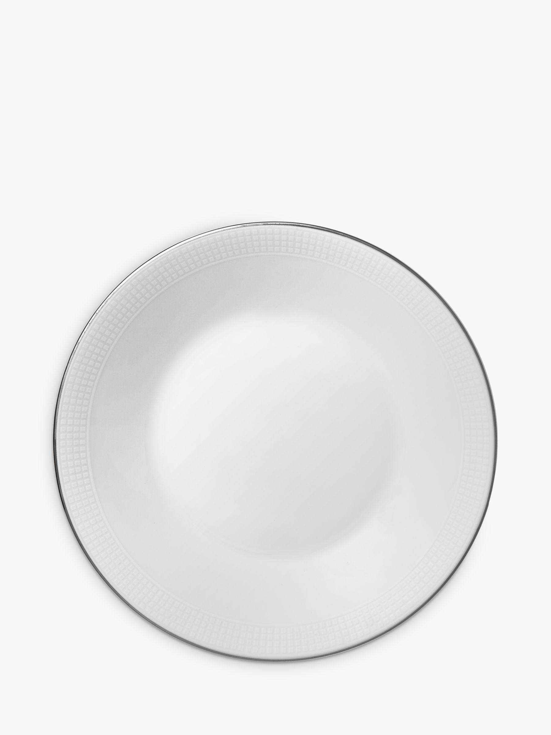 Vera Wang for Wedgwood Vera Wang for Wedgwood Blanc sur Blanc Tea Saucer, Dia.10.5cm, White