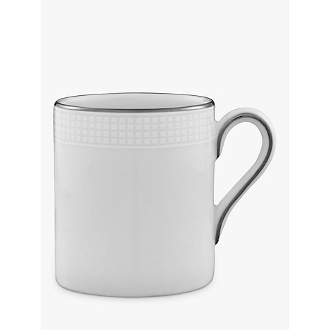 Buy Vera Wang for Wedgwood Blanc sur Blanc Espresso Cup Online at johnlewis.com