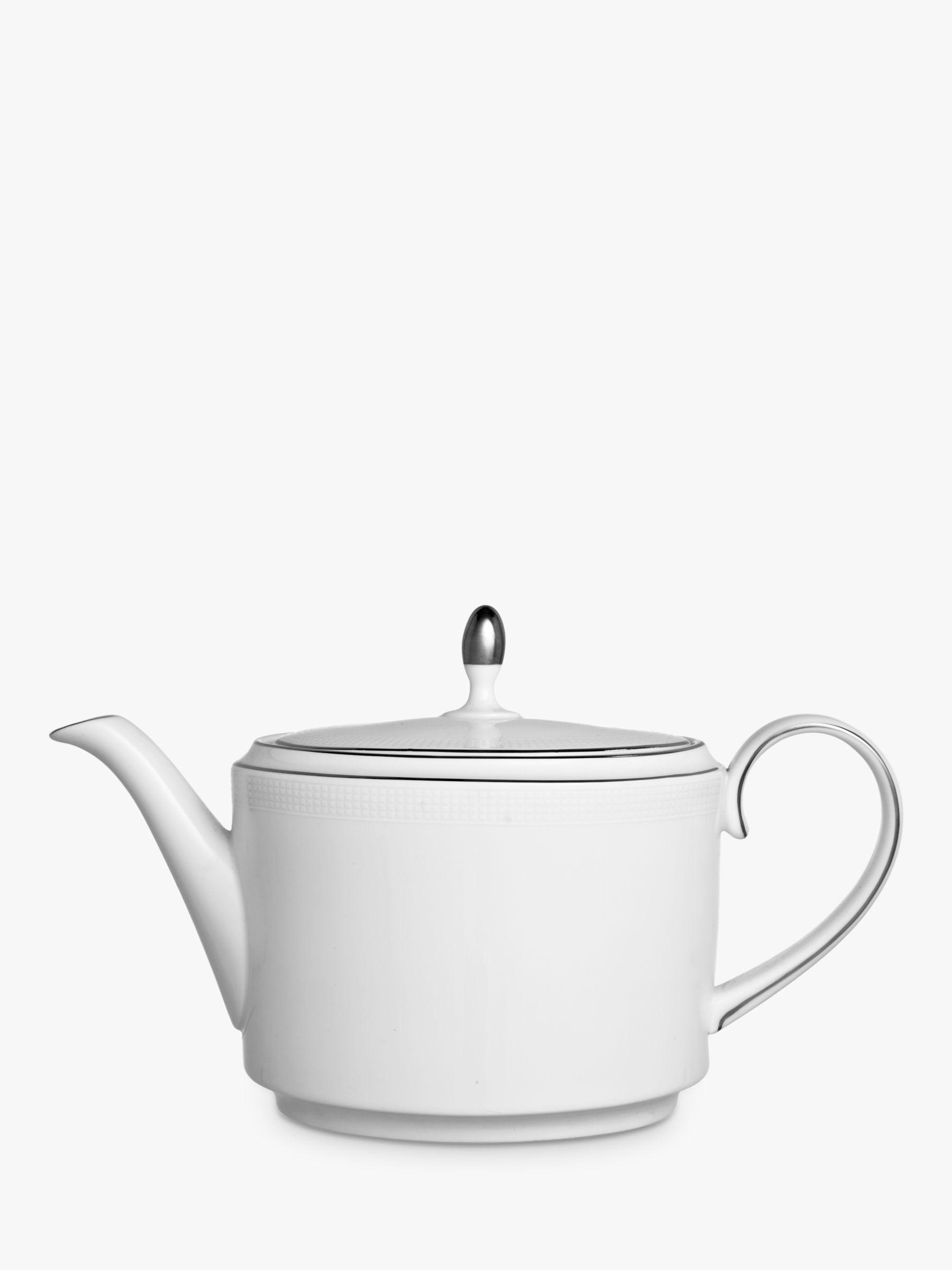 Vera Wang for Wedgwood Vera Wang for Wedgwood Blanc sur Blanc Teapot, 1.1L