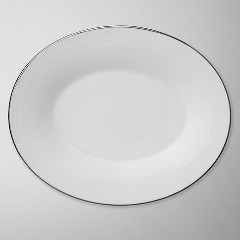 Buy Vera Wang for Wedgwood Blanc sur Blanc Sauce Boat Stand Online at johnlewis.com