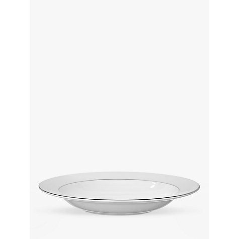 Buy Vera Wang for Wedgwood Blanc sur Blanc 23cm Soup Plate Online at johnlewis.com