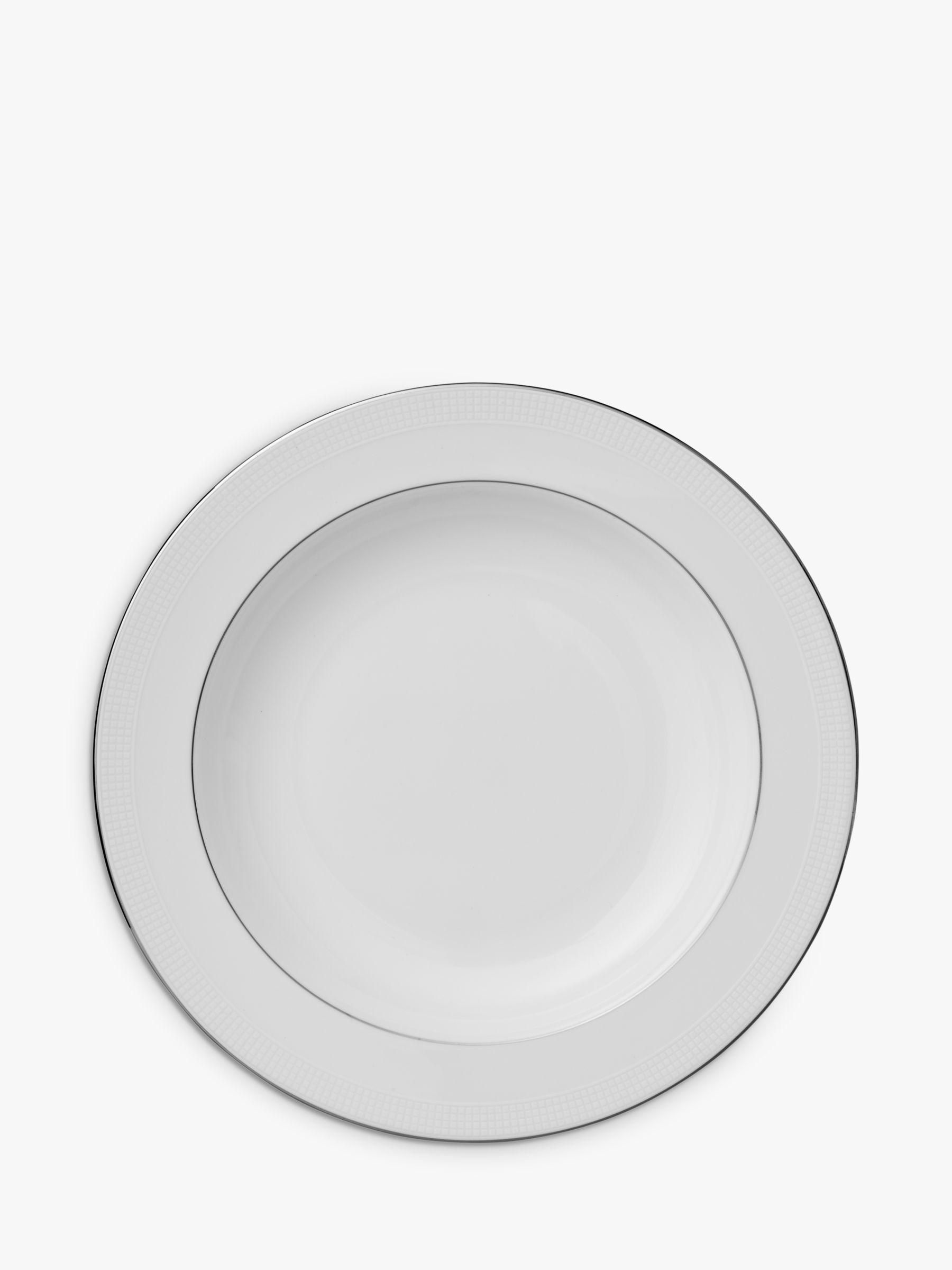 Vera Wang for Wedgwood Vera Wang for Wedgwood Blanc sur Blanc 23cm Soup Plate