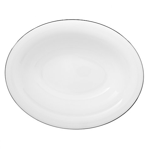Buy Vera Wang for Wedgwood Blanc sur Blanc Open Vegetable Dish, 25cm Online at johnlewis.com