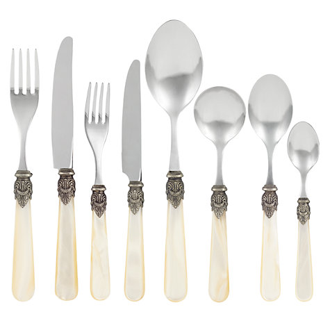 Buy Vintage Ivory Serving Spoon Online at johnlewis.com