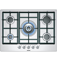 Buy Siemens EC715RB90E Gas Hob, Stainless Steel Online at johnlewis.com