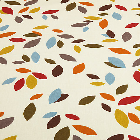 Buy Scattered Leaves Furnishing Fabric Online at johnlewis.com