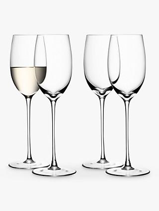 LSA Bar Collection White Wine Glasses, Set of 4