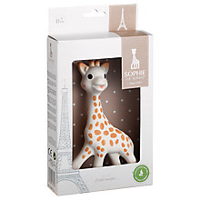 Buy Sophie la Girafe Teether in Gift Box Online at johnlewis.com