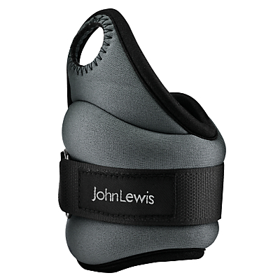 John Lewis Wrist Weights, 2x 0.5kg