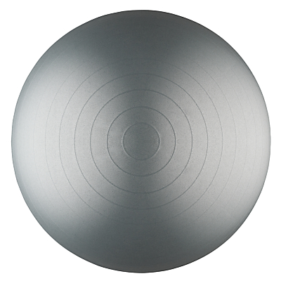 Product photo of John lewis balance ball grey 65cm
