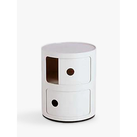 Buy Kartell Componibili Circular Storage Unit, 2 Tier Online at johnlewis.com