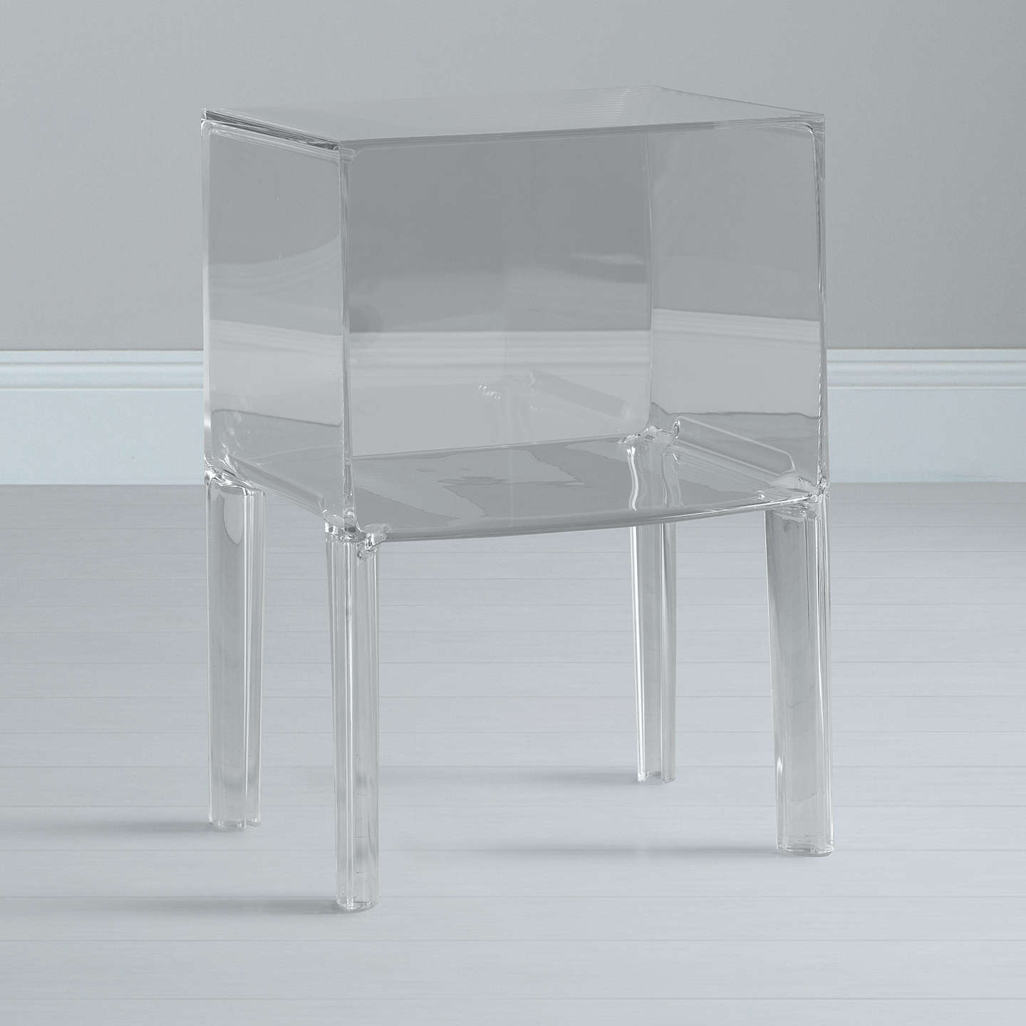 BuyPhilippe Starck for Kartell Ghost Buster Night Table, Crystal, Small Online at johnlewis.com