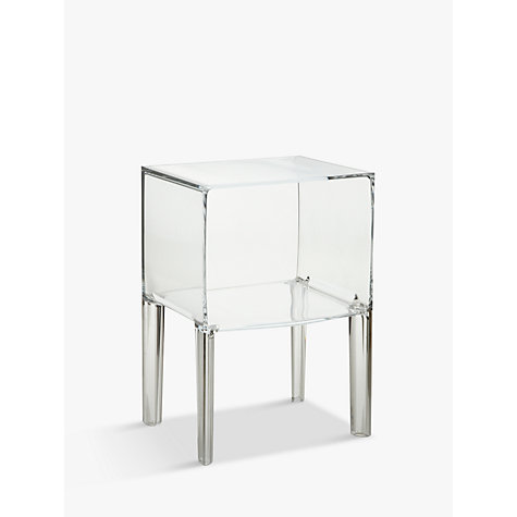 buy philippe starck for kartell ghost buster night table crystal small john lewis. Black Bedroom Furniture Sets. Home Design Ideas