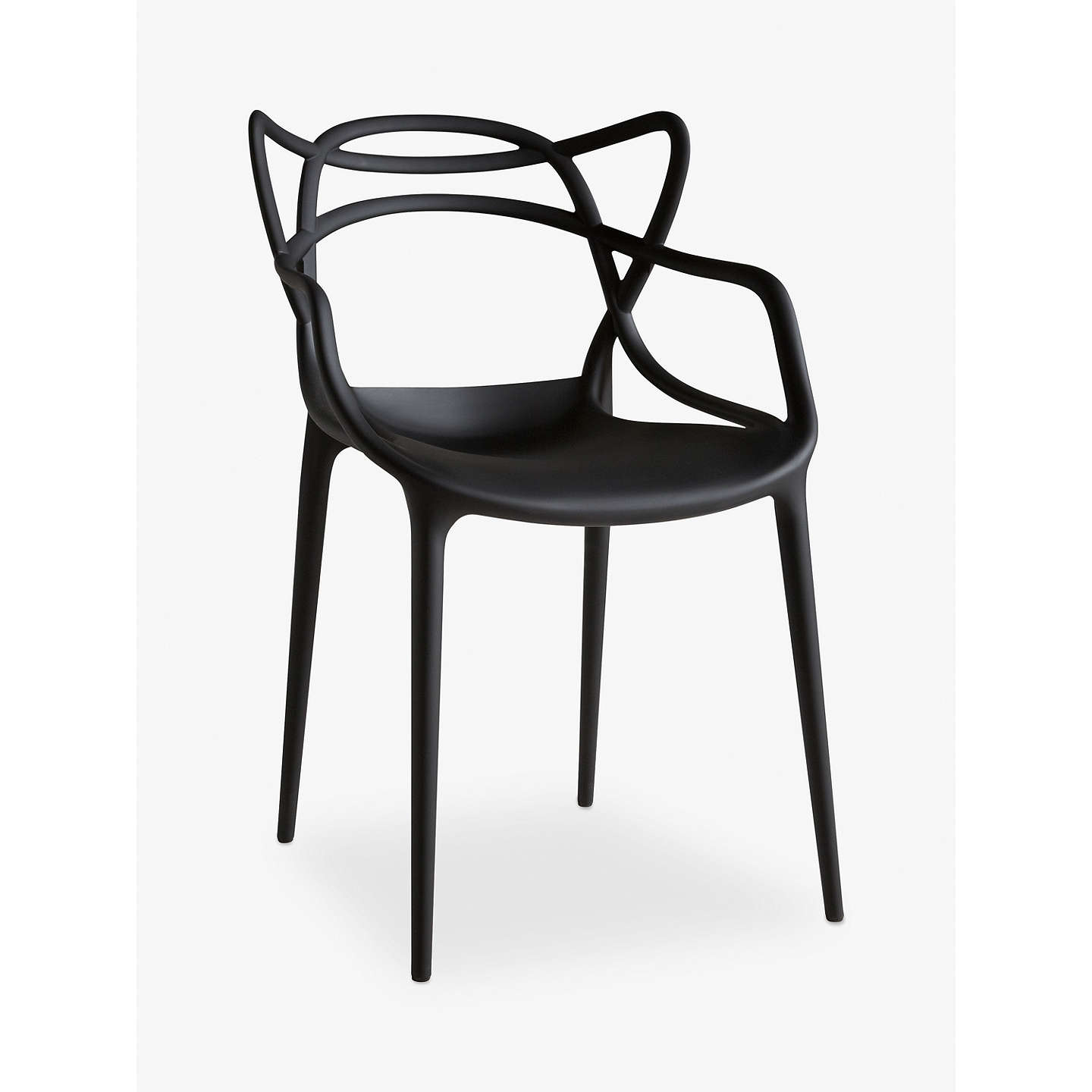 BuyPhilippe Starck for Kartell Masters Chair, Black Online at johnlewis.com