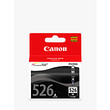 Buy Canon PIXMA CLI-526BK Inkjet Cartridge, Black Online at johnlewis.com