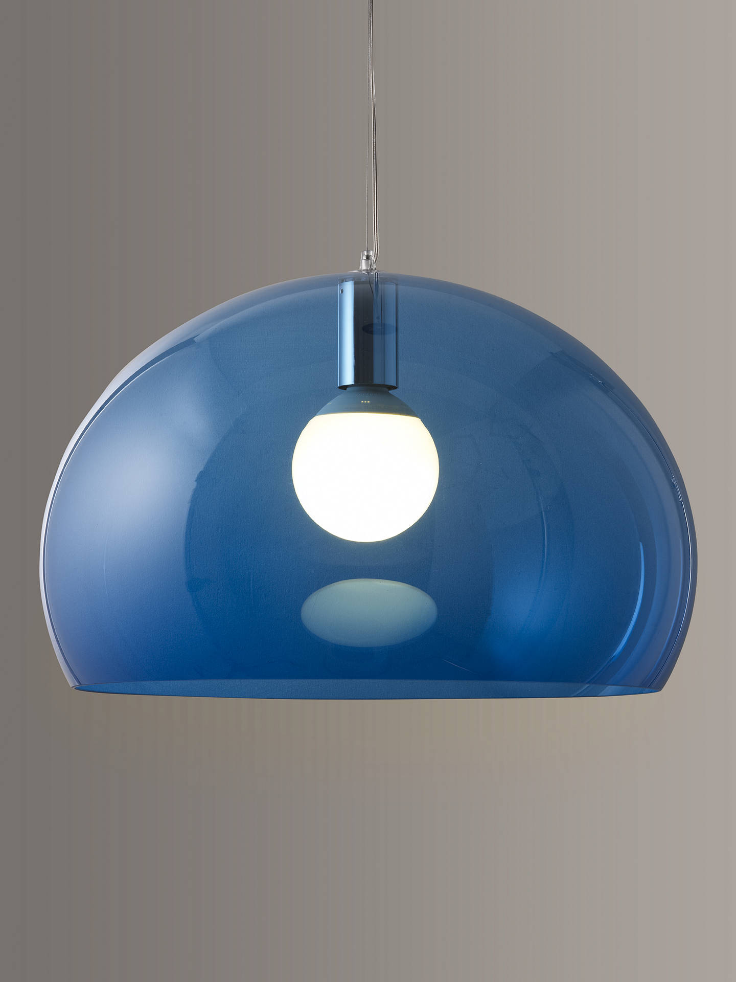 BuyKartell FLY Ceiling Light, Petrol Blue Online at johnlewis.com