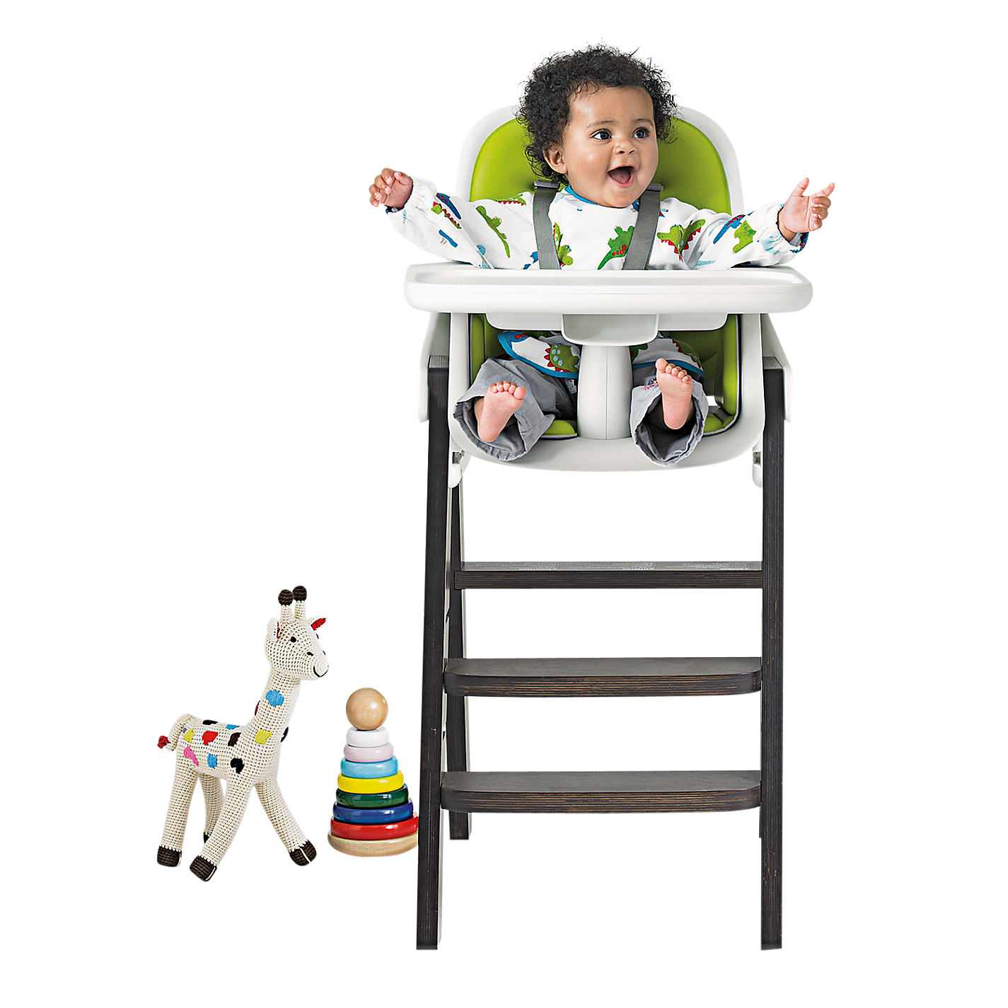 ... Buy OXO Tot Sprout Highchair, Green/Walnut Online At Johnlewis.com ...