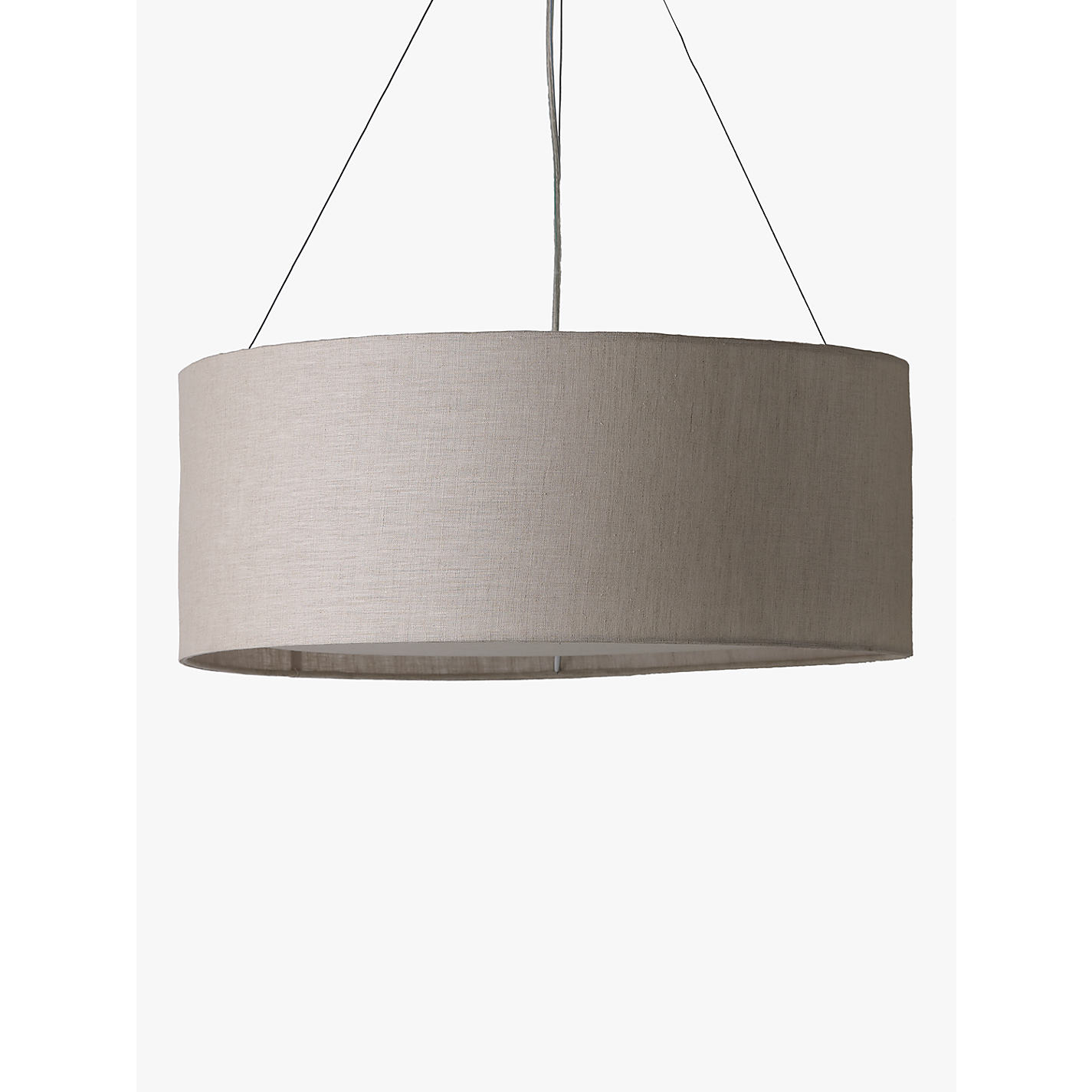Buy john lewis samantha linen ceiling light john lewis buy john lewis samantha linen ceiling light online at johnlewis aloadofball Choice Image