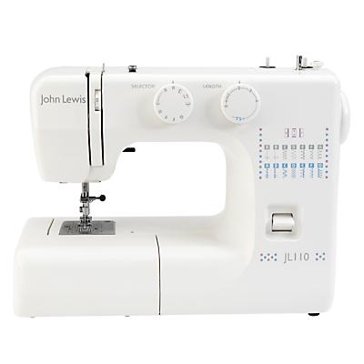 Product photo of John lewis jl110 sewing machine white