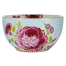 Buy PiP Studio Big Floral 12cm Bowl, Blue Online at johnlewis.com