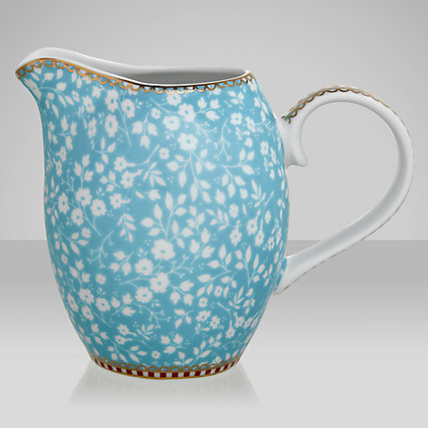 Buy PiP Studio Jug, Blue, Small Online at johnlewis.com