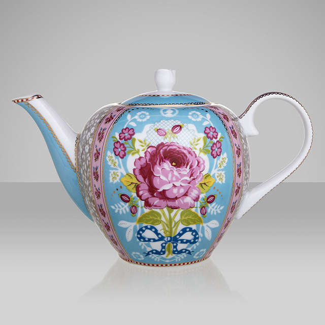 BuyPiP Studio Teapot, 1.6L, Blue Online at johnlewis.com