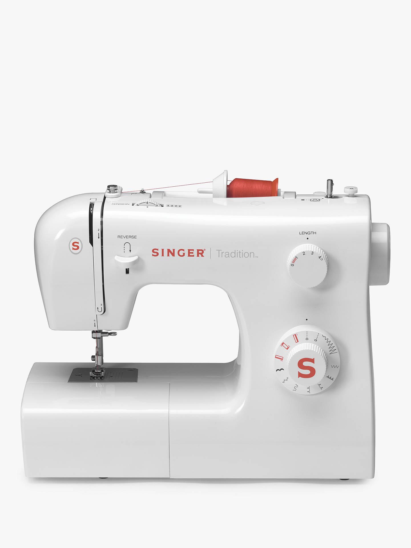 Singer Tradition 2250NT Sewing Machine at John Lewis ...