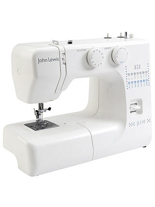 Buy John Lewis & Partners JL110 Sewing Machine, White Online at johnlewis.com