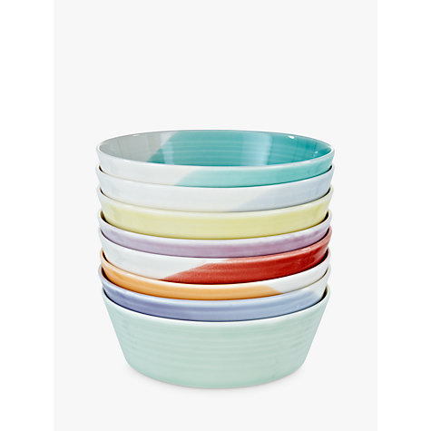 Buy Royal Doulton 1815 Tapas Dishes, Multi, Set of 8, Dia.12cm Online at johnlewis.com