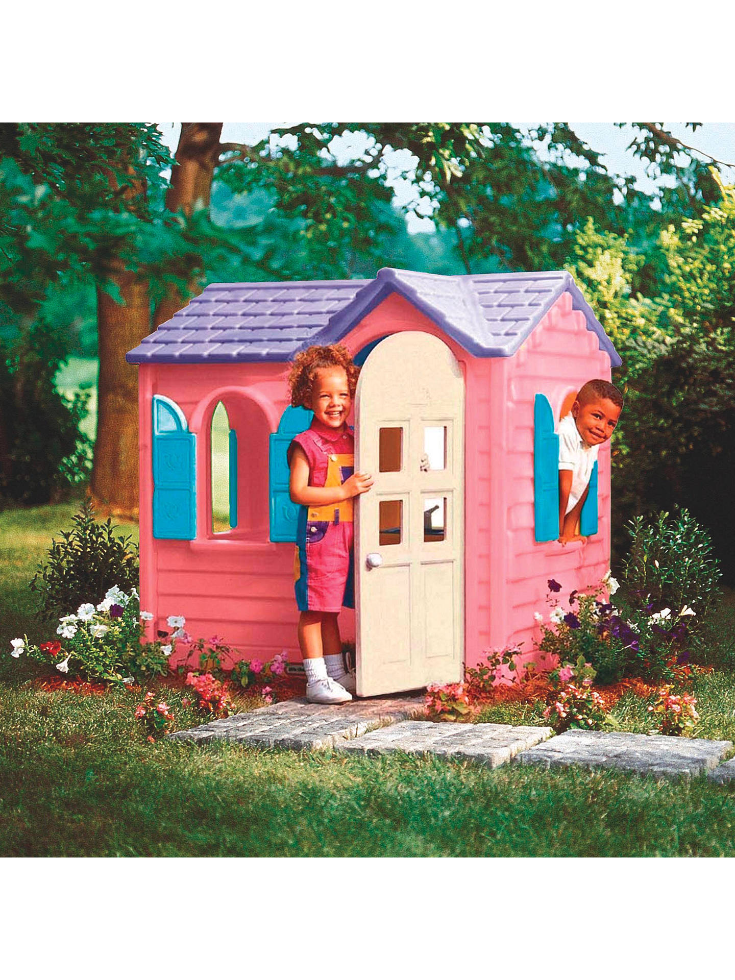 Terrific Little Tikes Pink Country Cottage At John Lewis Partners Download Free Architecture Designs Saprecsunscenecom