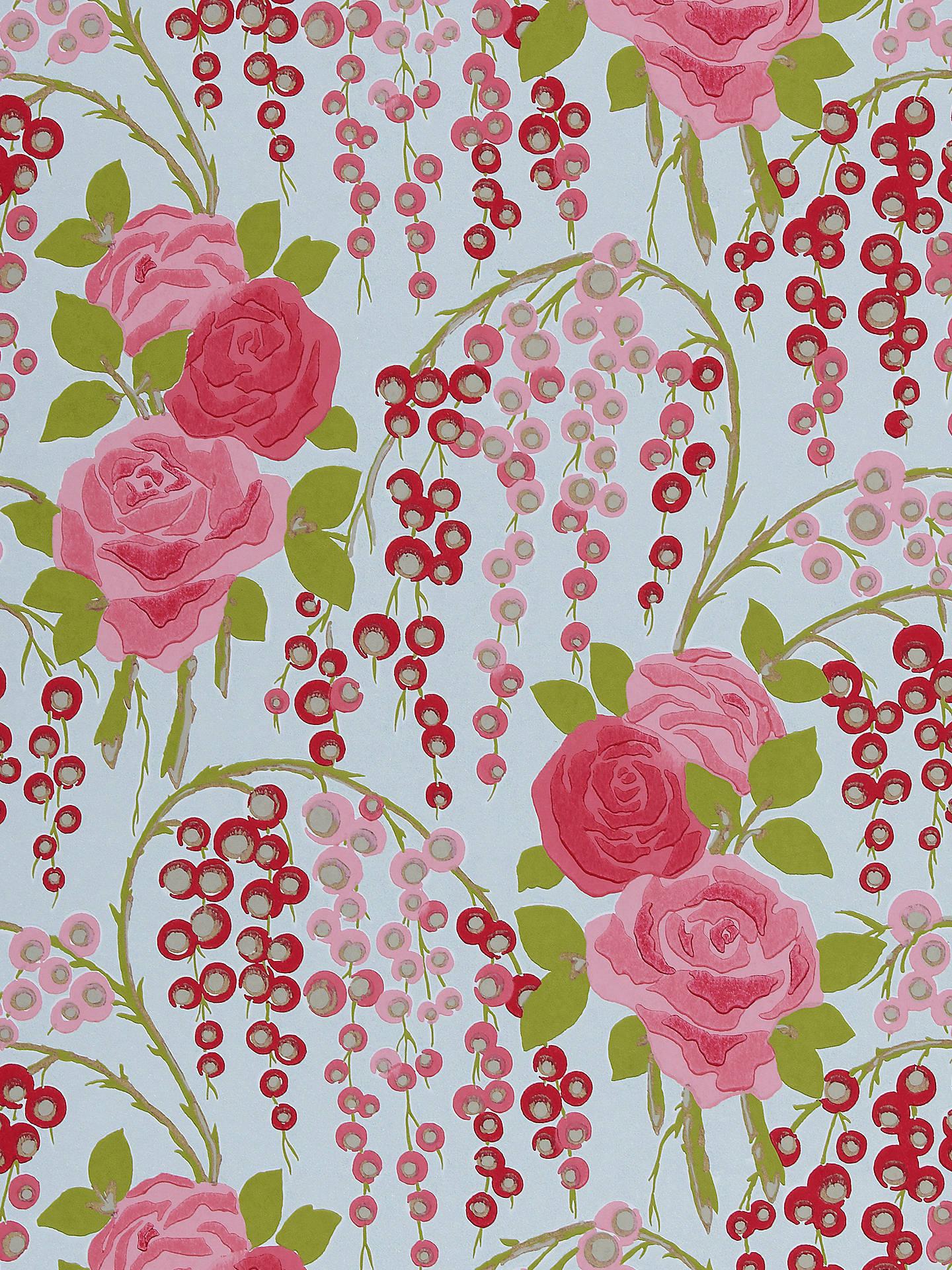 Harlequin Iola Rose Wallpaper At John Lewis Partners