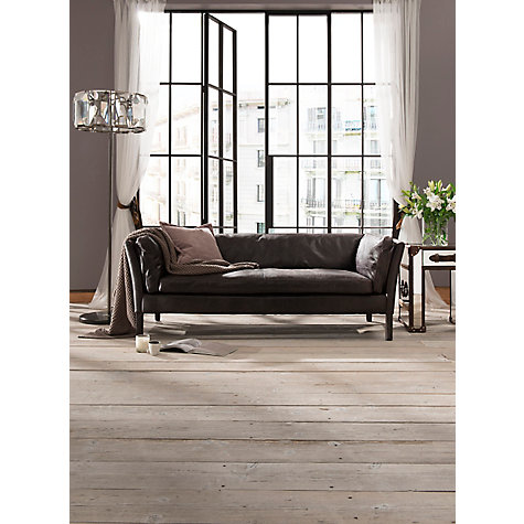Buy Halo Groucho Small Aniline Leather Sofa Online at johnlewis.com