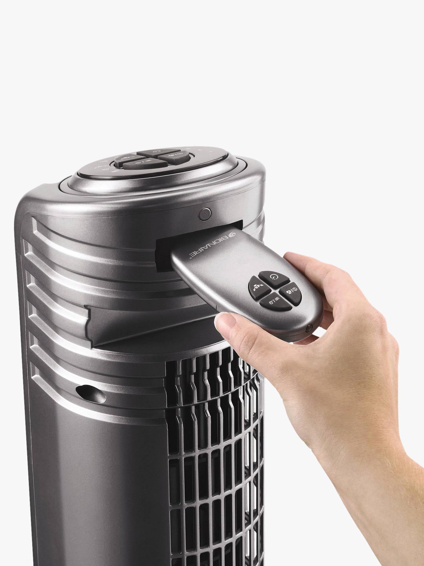 Bionaire BT19-IUK Tower Fan, Silver